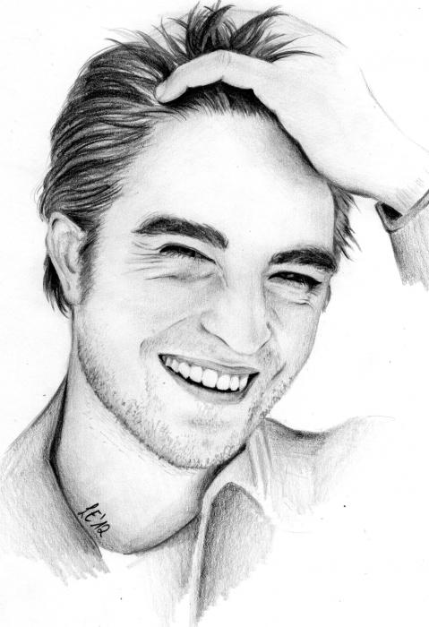 Portrait Of Robert Pattinson By Leonie91 On Stars