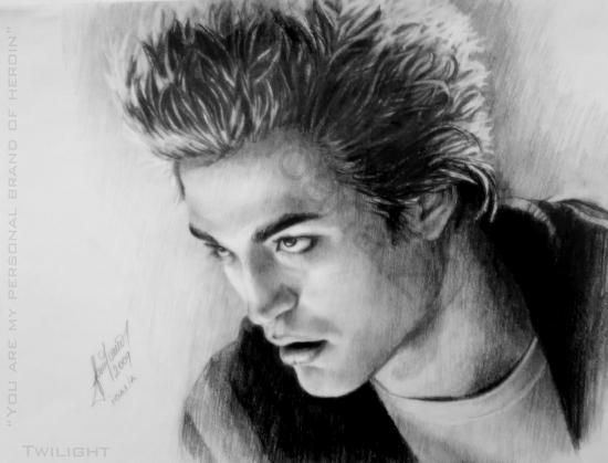 Robert Pattinson by Ioana_Z