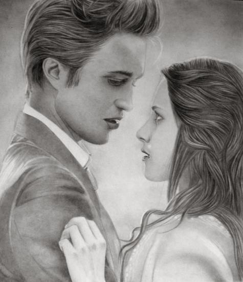 Kristen Stewart, Robert Pattinson by KLSADAKO