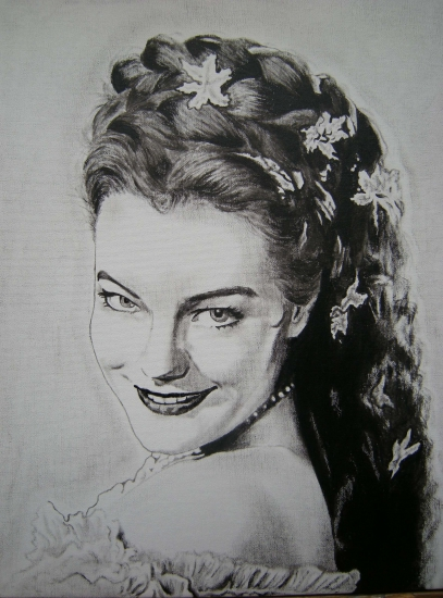 Bien-aimé Portrait of Romy Schneider by giulivas on Stars Portraits - 2 CX08