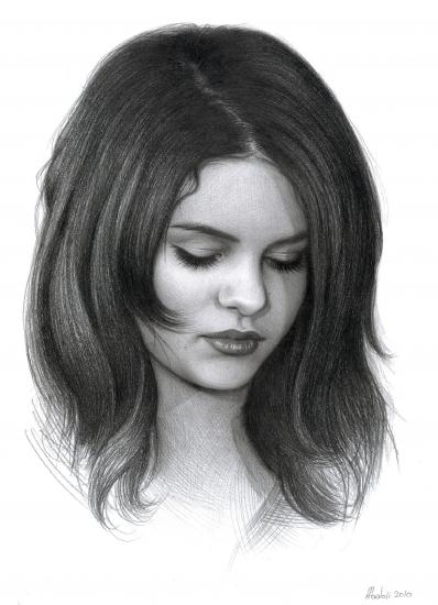 Starsportraits retratos de selena gomez por t3 iura 1 - Selena gomez dessin ...