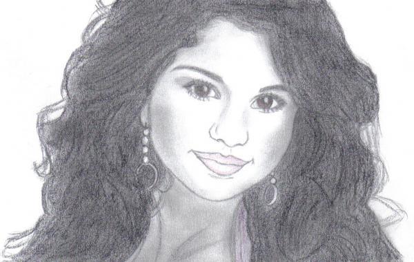 Stars portraits portrait de selena gomez par coco45 - Selena gomez dessin ...