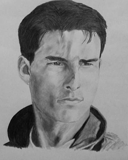 Tom Cruise by TerrorEyes