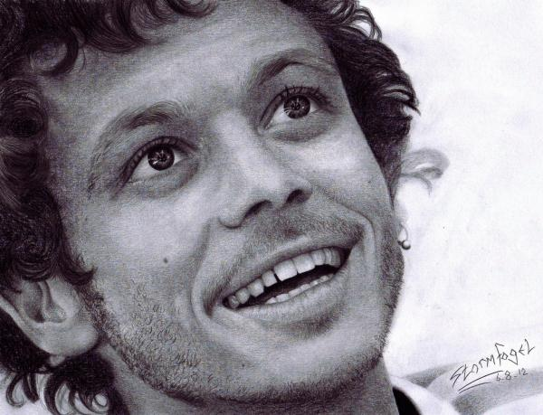 Valentino Rossi by Stormfogel