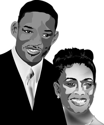 will smith and jada pinkett smith house. Jada Pinkett Smith - Cast of