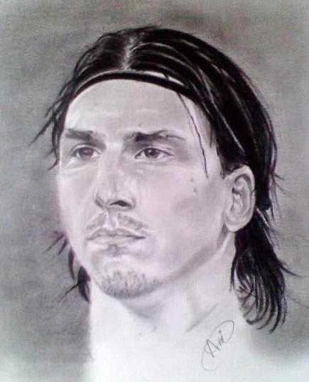 PORTRAITS- ENTRAINEURS-FOOTBALLEURS- - Page 2 Zlatan-ibrahimovic-by-art10
