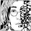 Portrait of John Lennon by yfrimer