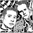 Portrait of Simon & Garfunkel by yfrimer
