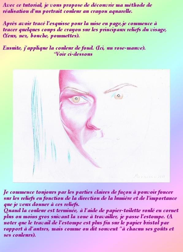 Portrait crayons de couleur 1