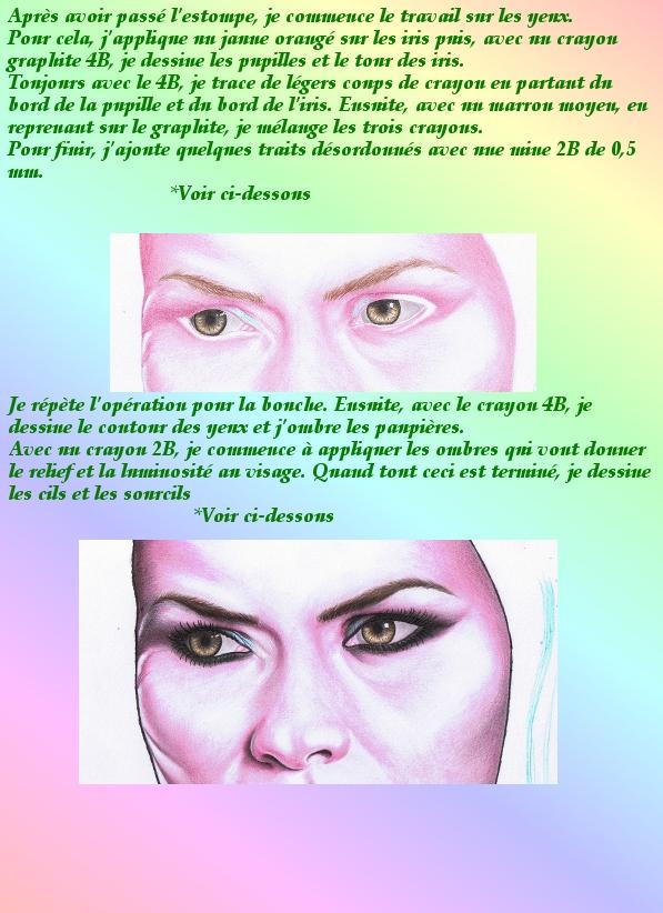 Portrait crayons de couleur 2