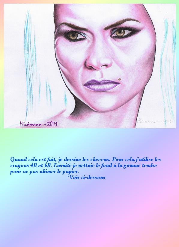 Portrait crayons de couleur 3