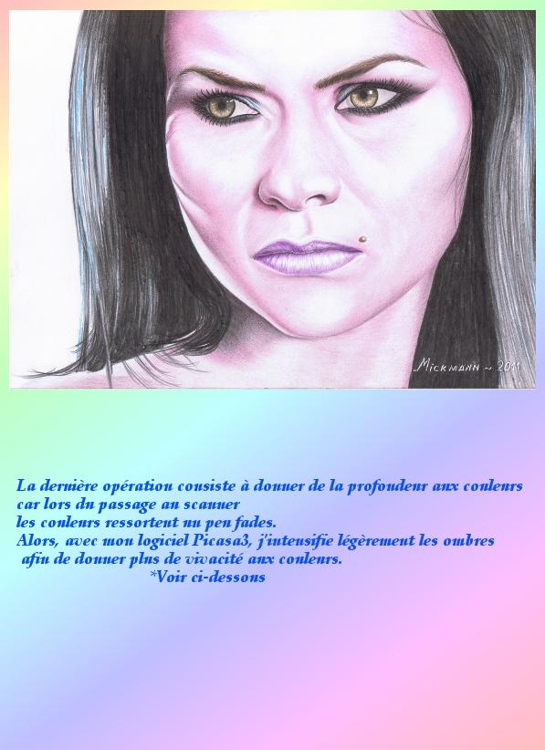 Portrait crayons de couleur 4