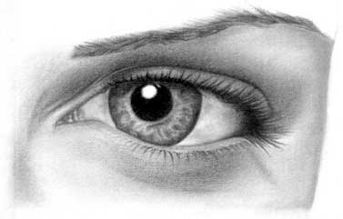 Drawing eye - step 27