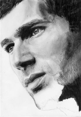 Portrait Zinedine Zidane 11