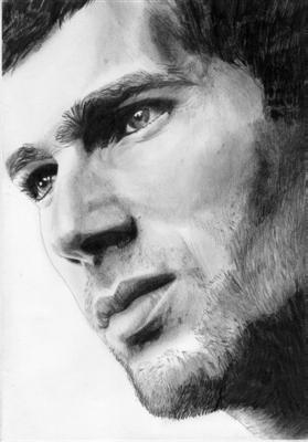 Portrait Zinedine Zidane 12