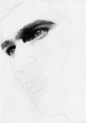 Portrait Zinedine Zidane 4
