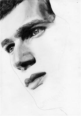 Portrait Zinedine Zidane 8