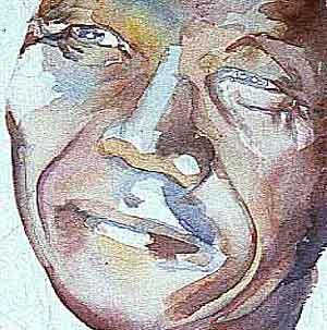 Nelson Mandela zoom